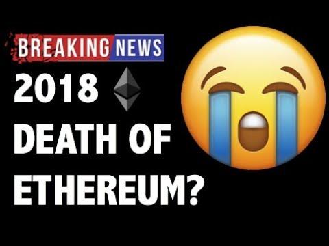 CRYPTO: DEATH OF ETHEREUM? CRYPTOCURRENCY, BITCOIN, LITECOIN, MONERO, CARDANO, COINBASE NEWS 2018