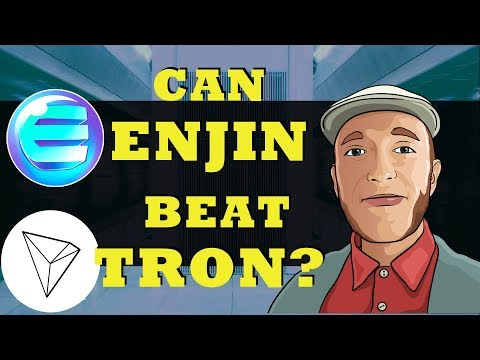 TRON Surge Before Test Net Launch | Crypto Gaming Competitor Enjin