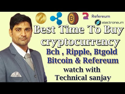 best time to buy bitcoin , bch , ripple , bitcoin gold and refereum ? watch full video