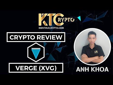 Review Crypto toàn tập về đồng Verge – XVG – Đồng tiền được cải tiến từ Bitcoin