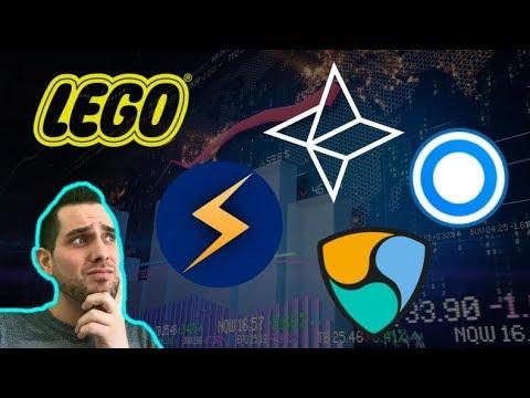 $STORM 🚀 Bitcoin LEGO Art | CoinMarketCap Scam? Nebulas | Blockport | $NAS $BPT $NEM $XLM