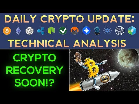 Cryptocurrency Recovery Very Soon! (Bullish Signs Appear!)