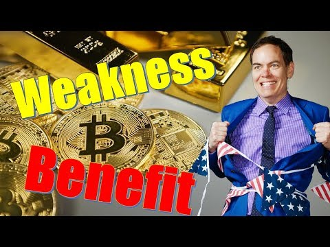 Bitcoin & Gold Benefit From Weakness In The Stock Market – Max Keiser