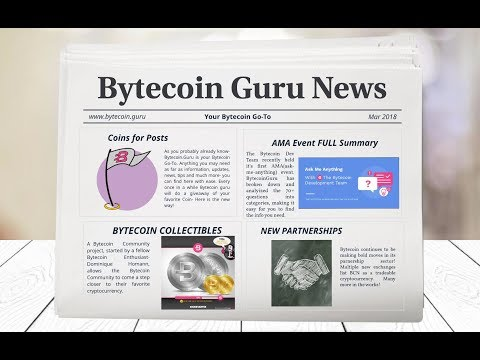 Bytecoin Guru News (Share Knowledge- Get FREE Bytecoin? Collectibles & more)