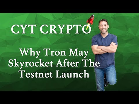 TRON – Why TRX May Skyrocket After Testnet Launch