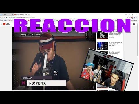 COSCU Y BHAVI REACCIONA A FREESTYLE EPICO DE NEO PISTEA EN EL  El Quinto Escalon Radio
