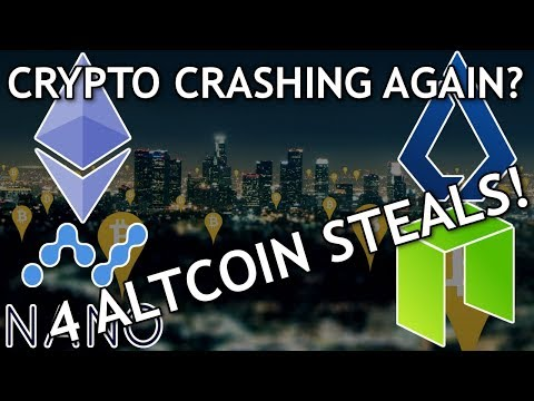Cryptocurrency Prices Take Another Dip! (4 Altcoins at Steal Prices!) (Ethereum, Lisk, NEO, Nano)