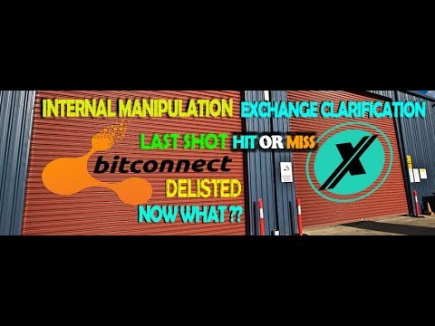BCC FINALE – INTERNAL MANIPULATION & BCCX Exchange Clarification