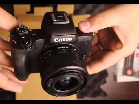 Canon EOS M50 Full review and Test Footage 4k!