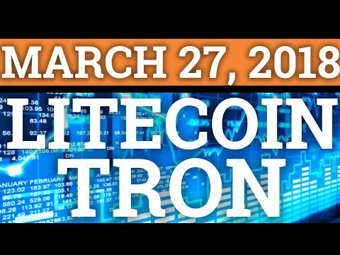 TRON TRX, LITECOIN LTC, COINBASE, LITEPAY! CRYPTOCURRENCY MARKET CRASH + BITCOIN BTC NEWS 2018!