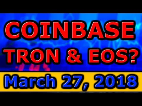 Coinbase Adding TRON & EOS? (ERC20 Support), Litecoin LOSING Credibility? UpBit Cryptocurrency INDEX
