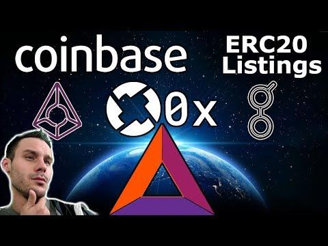 Coinbase Listing-$ZRX $BAT $REP $GNT | ?? Litecoin/Litepay | Twitter Bans Crypto Ads | $QLC Binance