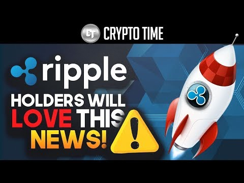 RIPPLE HOLDERS WILL LOVE HEARING THIS NEWS!!