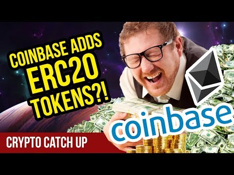 Coinbase Adding ERC20 Support! – Coinbase Adding New Coins! – CryptoCurrency News