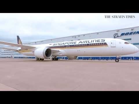 Inside SIA's new Boeing 787-10 Dreamliner