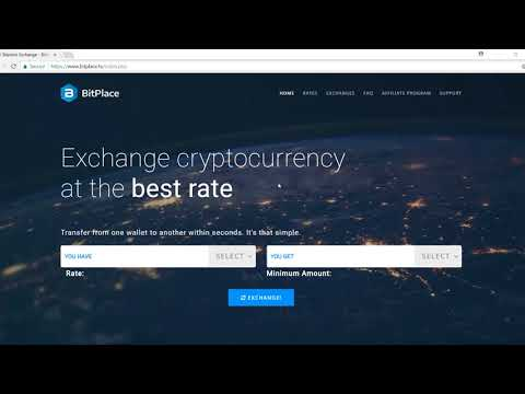Bitplace Exchange – Buy and Sell Aragon ANT