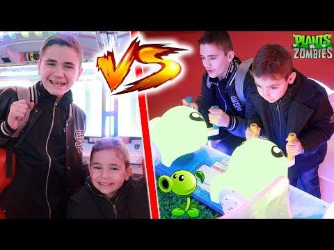 CHALLENGE JEUX VIDÉOS !!! – Swan VS Néo à La Tête Dans Les Nuages