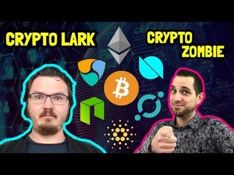 The Crypto Lark x Crypto Zombie   Cryptocurrency Chat   $BTC $ETH $NEO $ONT $ADA $ICX $POWR $XLM