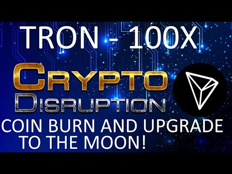 Tron (TRX) Coin Burn and Test Net Release (Correction) – Can We 100X