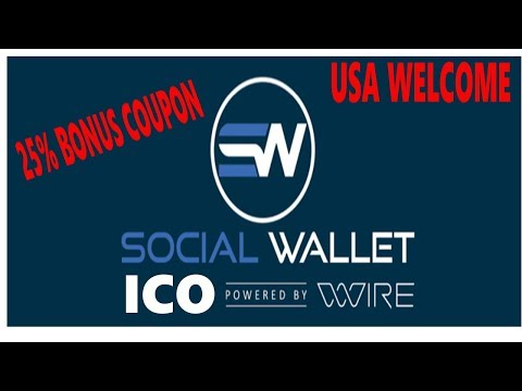 Social Wallet ICO- Integrating Cryptocurrency Into Social Networks (25% Coupon)