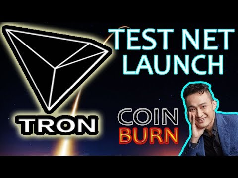 Tron (TRX) Test Net Launch and Coin Burn Just Days Away – PRICE MOVEMENT?!