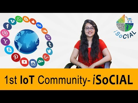 1st IoT Community – iSoCIAL