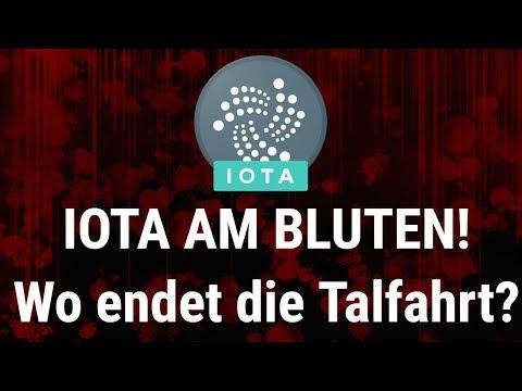 IOTA AM BLUTEN – Wo endet die Talfahrt?