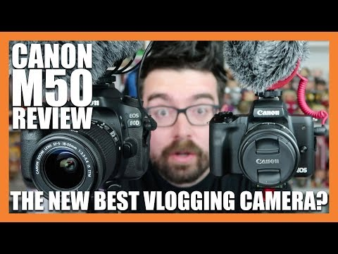 CANON EOS M50 – THE NEW BEST VLOGGING CAMERA IN 2018? | CANON 4K M50 MIRRORLESS  UNBOXING