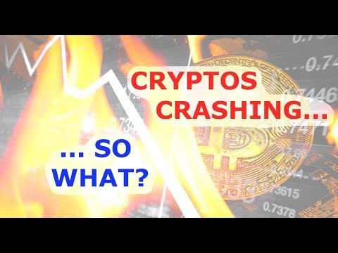 Crypto Crash… So What? // 2018 bitcoin collapse cryptocurrency cryptocurrencies ethereum litecoin