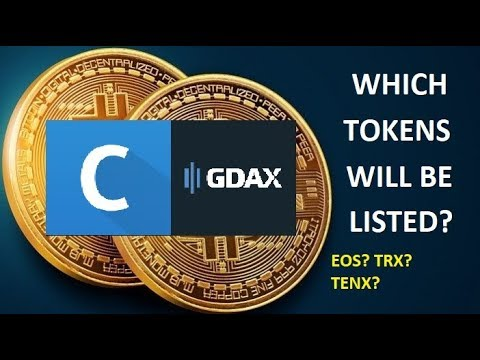 Coinbase Supporting ERC20 Tokens! Which Will Be Listed? EOS? OMG? TENX?…