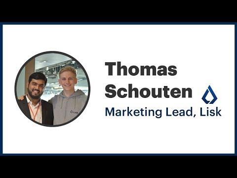 Interview With Thomas Schouten, Marketing Lead, Lisk @ Token2049 Hong Kong