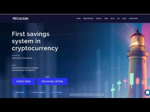 Peculium: First Savings System in Cryptocurrency.