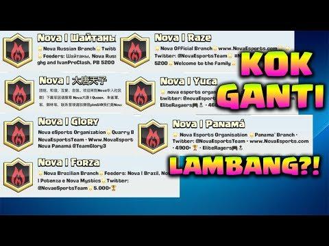 SEMUA CLAN NOVA GANTI LAMBANG, ADA APA INI? – Clash Royale Indonesia