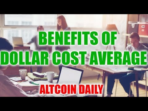 BENEFIT OF DOLLAR COST AVERAGING! CRYPTOCURRENCY/BITCOIN STRATEGY!
