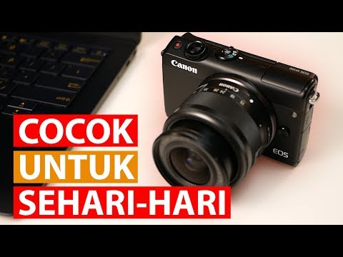 Kamera Pemula Rasa Profesional | Review EOS M100 Bahasa Indonesia
