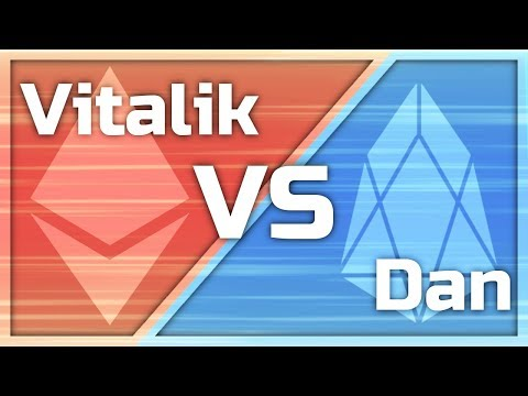 Ethereum vs EOS or Dan vs Vitalik… let's go over the debate $eos $eth