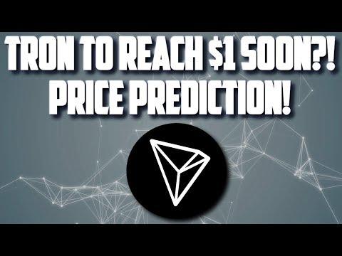 TRON TRX TO THE MOON? TRON PRICE PREDICTION! 1$ SOON?