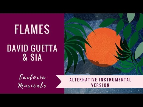 Flames – Sia & David Guetta – Alternative- ( Karaoke with Lyrics )
