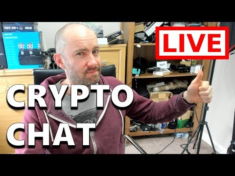 Saturday Cryptocurrency Chat  – Live Stream