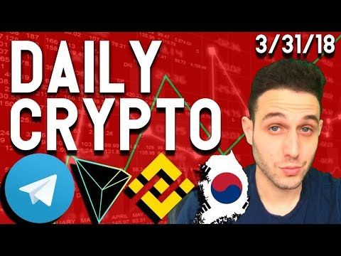 Daily Crypto News: Telegram wants $2.5 Billion? Binance Investigation? Tron Test Net