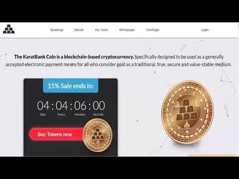 Karatbars And Karatbank Cryptocurrency Wealth Building System