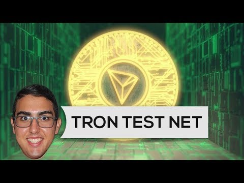 TRON ($TRX) awaited test net finally launched today!