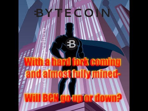 Bytecoin Hard Fork Coming 6/12. Will BCN go up or down?