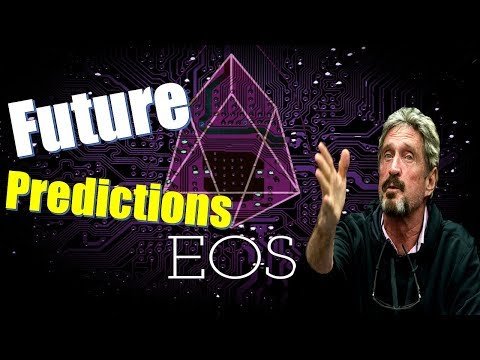 EOS Price Predictions – The Future Looks Bright For Cryptocurrency – John McAfee