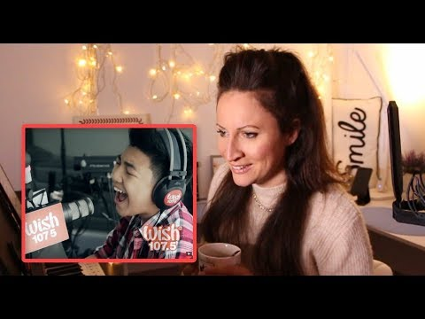 Vocal Coach REACTS/ANALYSES- to DARREN ESPANTO – Chandelier (Sia) LIVE Cover on Wish FM 107.5 Bus