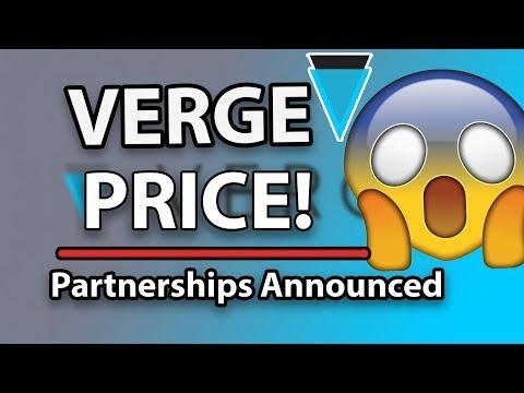 Verge XVG Price Increase – Upcoming Partnerships