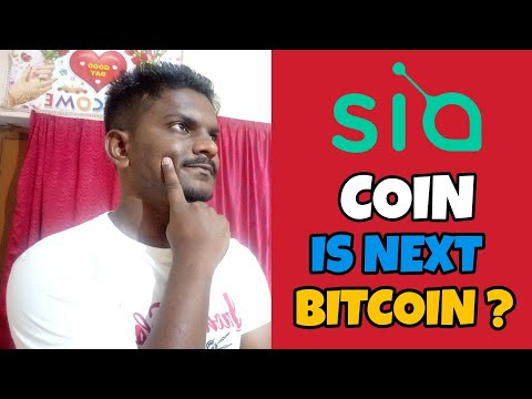 Sia Coin Will be Next Bitcoin and its future price prediction ? | Crypto Update in Hindi