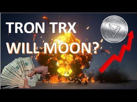 Will Tron trx save the crypto market? tron trx to moon
