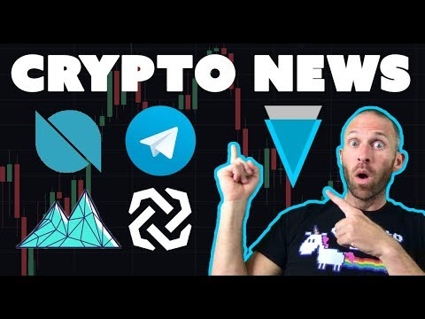 Crypto News – Verge Bytom Ontology Mithril Telegram ICO