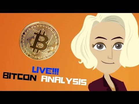 Bitcoin & cryptocurrency Analysis (LIVE STREAM)